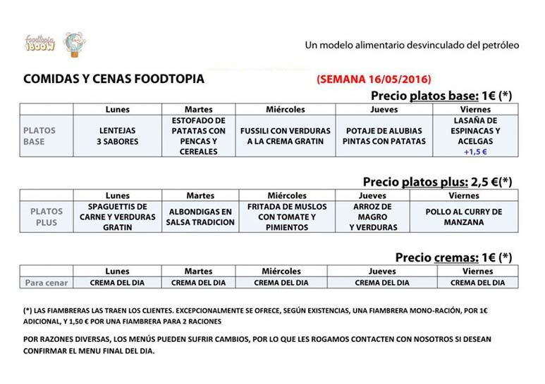 menu foodtopia