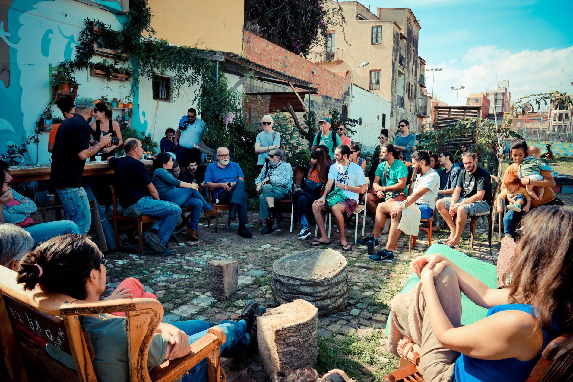 Presentación Foodtopia y Plataforma Soberanía Alimentaria en Cabanyal Horta