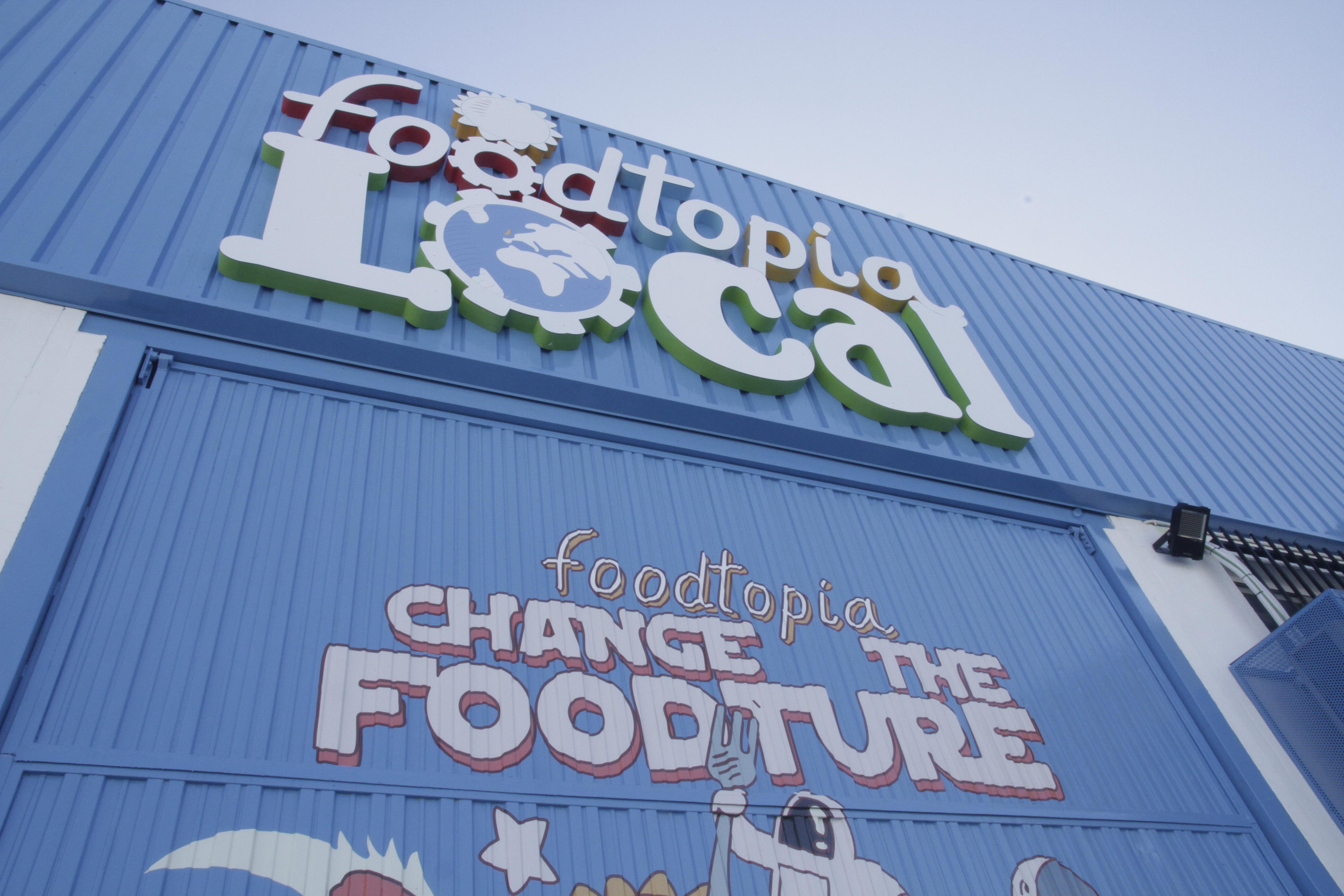Foodtopia polígono industrial san ginés fachada