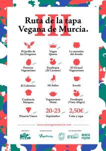 ruta tapa vegana murcia foodtopia