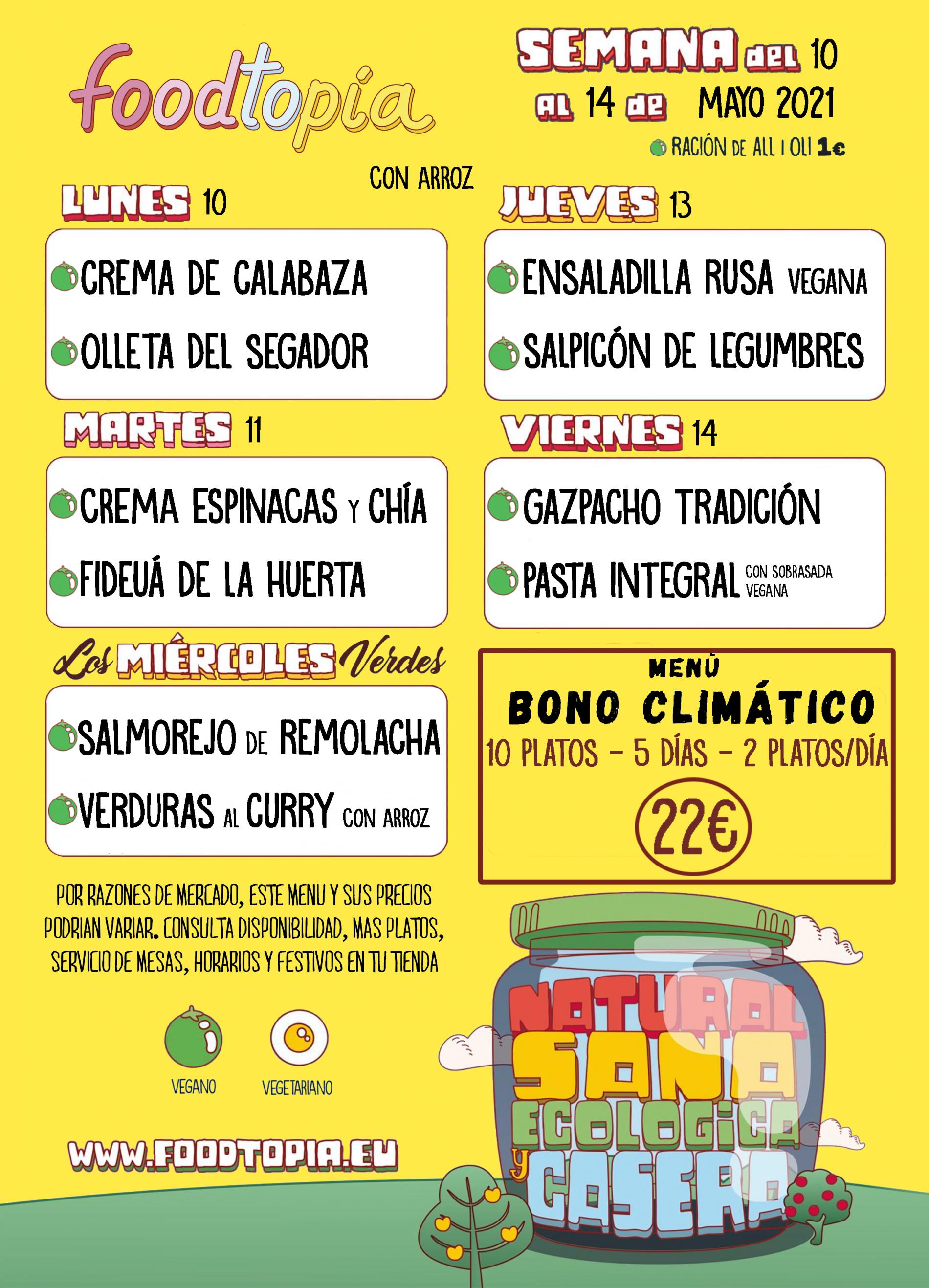 BONO CLIMATICO 10 MAYO 2021